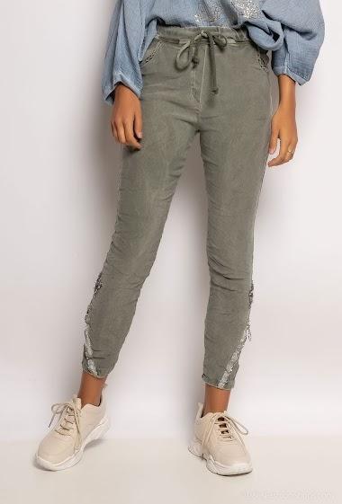 Plain pants - For Her Paris