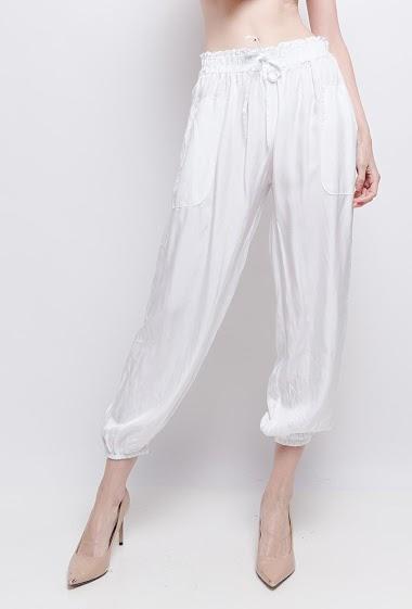 pantalon uni - For Her Paris