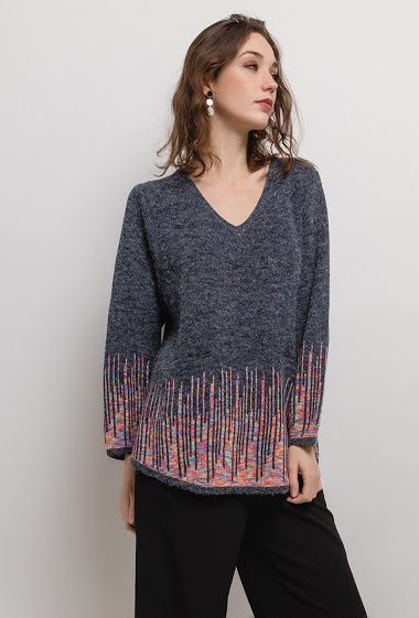 Pull GRANDE TAILLE - For Her Paris