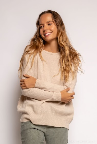 oversized cashmere sweater - For Her Paris