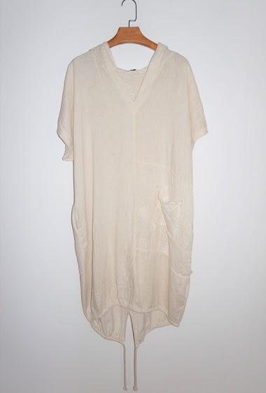 robe à capuche Grande Taille - For Her Paris