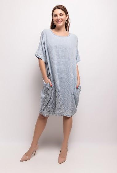 Cotton dress - For Her Paris