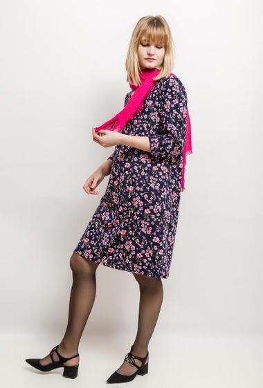 Robe imprimée DAVINA - For Her Paris