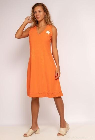 plain tank top dress - For Her Paris