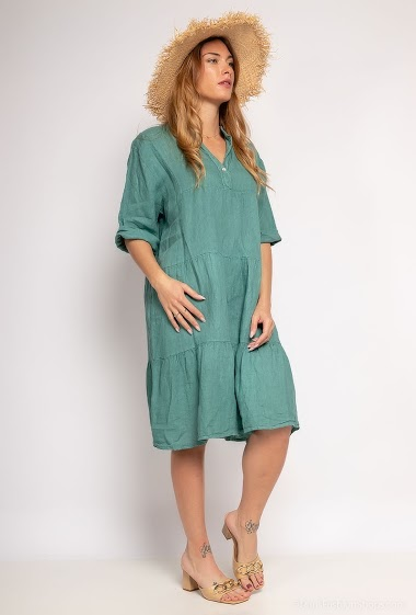 Robe en 100% lin - For Her Paris