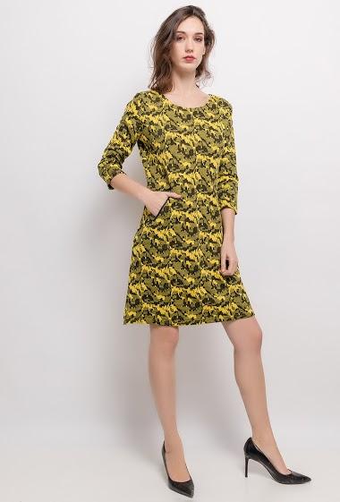 Printed dress - For Her Paris