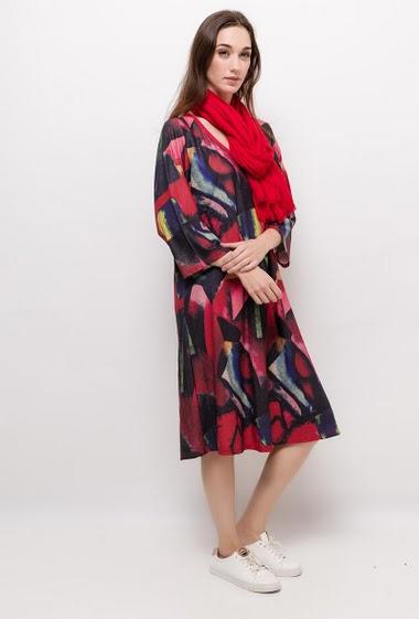 Robe imprimée FRANCELINE - For Her Paris