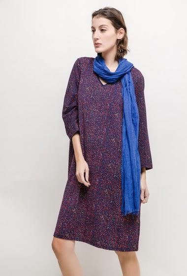 Robe imprimée Eleonie - For Her Paris