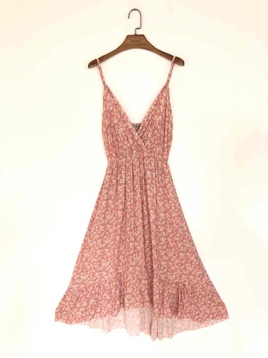liberties Dress with thin straps - For Her Paris