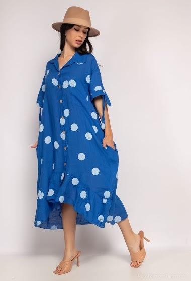 oversized long dress - For Her Paris