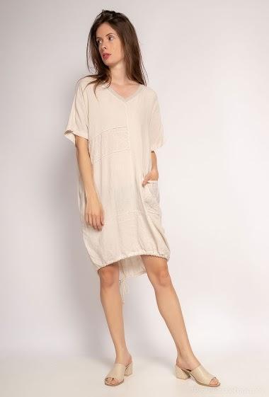 Plain oversized dress - For Her Paris