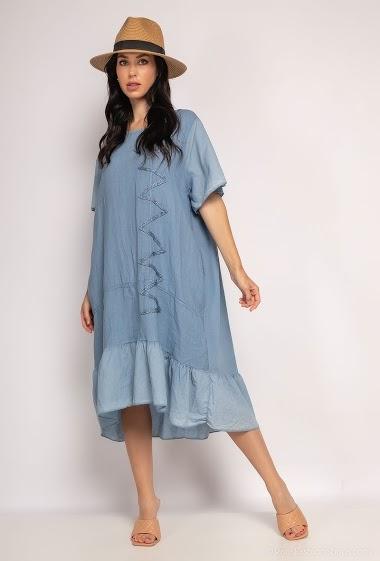 oversized plain dress - For Her Paris