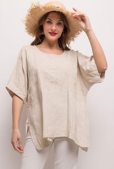 Top lin/coton - For Her Paris