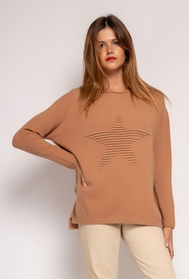 Oversized knit top - For Her Paris