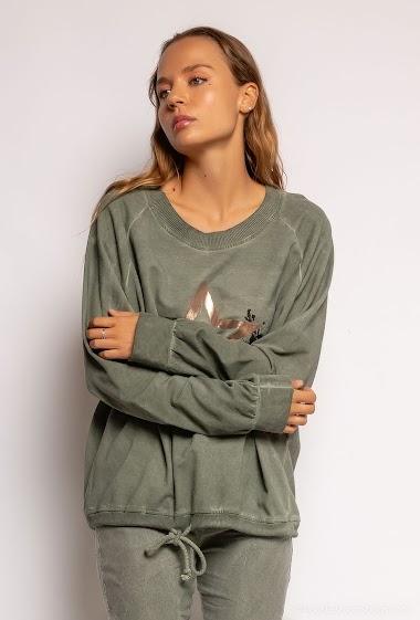 top oversize uni Etoile - For Her Paris