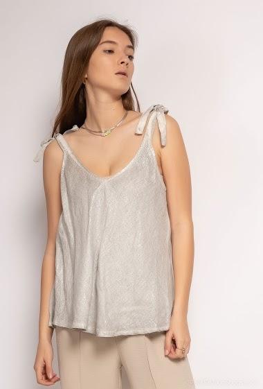 Plain oversize top - For Her Paris