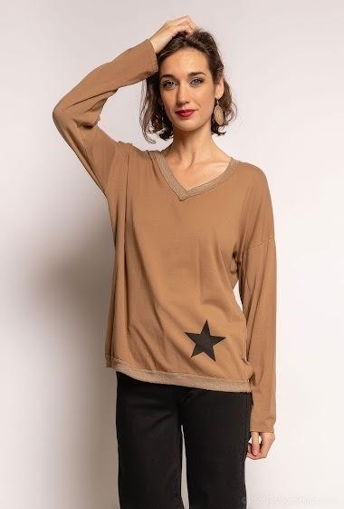 top oversize uni - For Her Paris