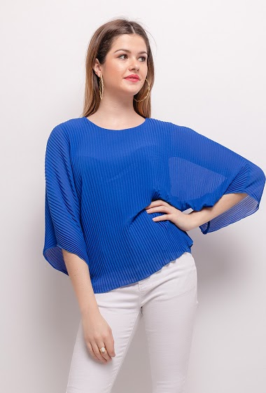 Pleated TOP - For Her Paris