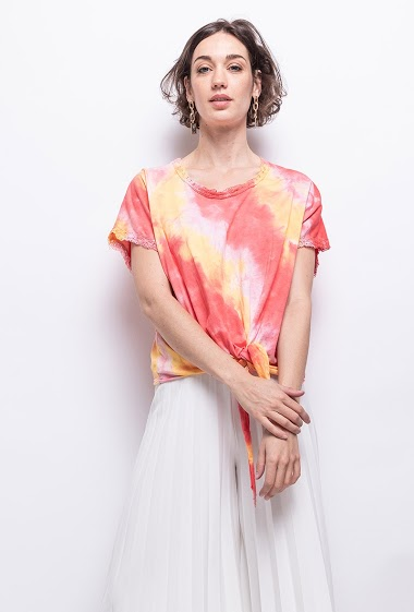 top Tie and Dye oversize - For Her Paris