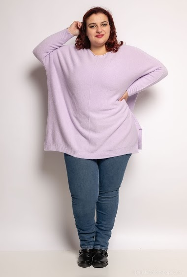 Oversized knit tunic - For Her Paris