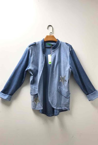 veste en coton avec étoiles - For Her Paris