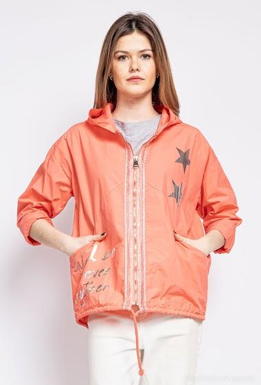 Oversized stars jacket - For Her Paris