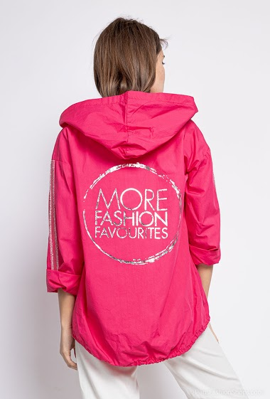 Oversized plain jacket - For Her Paris