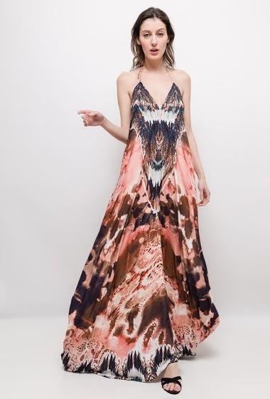 63979e93caa Wrap maxi dress. FRIME
