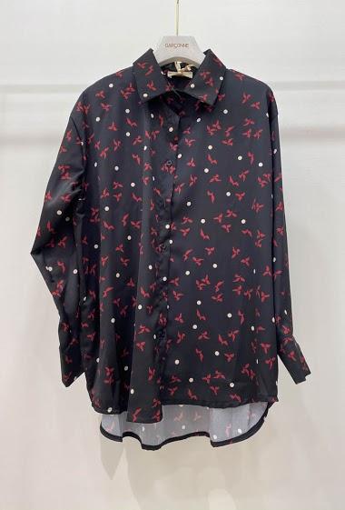 GARÇONNE printed satin shirts FASHION CENTER