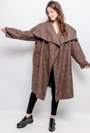 Flecked coat