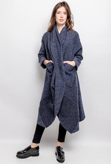 Open long coat