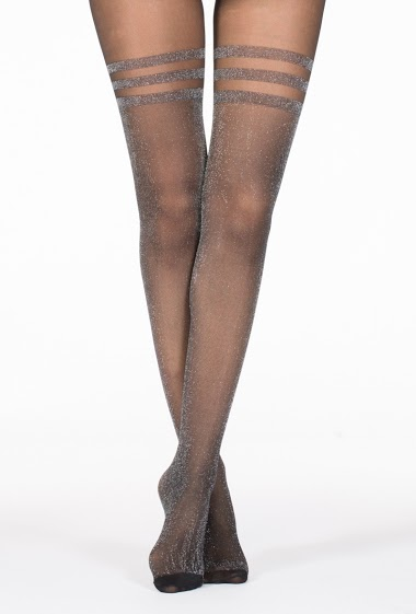 Tight with glitter stocking effect (20Den)
