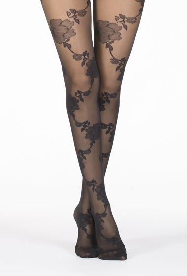 Flower Prints Tights