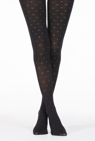 Opaque tights with dots (80Den)