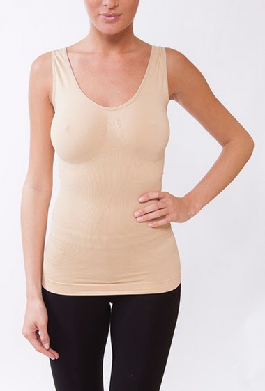 Slimming tank top for a skinny silhouette