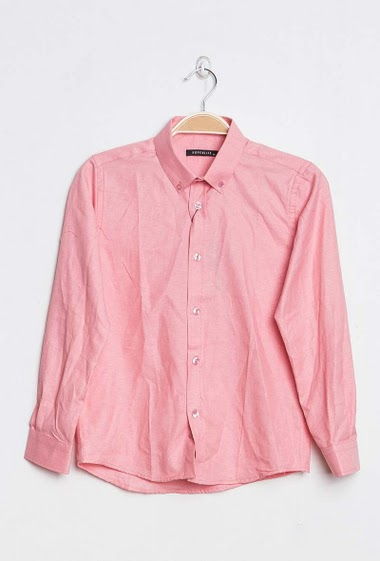 Shirt in cotton mix
