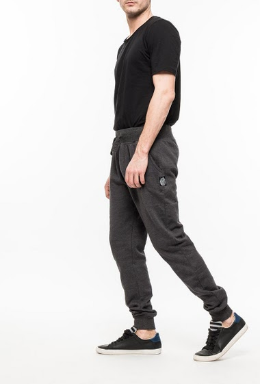 Pantalon de jogging en molleton, poches