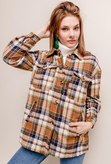 IN VOGUE check overshirt CIFA FASHION