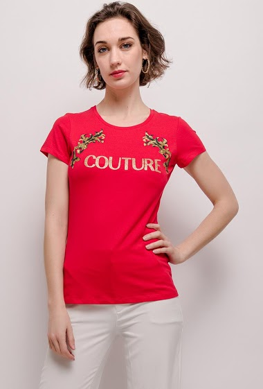 T-shirt with print COUTURE