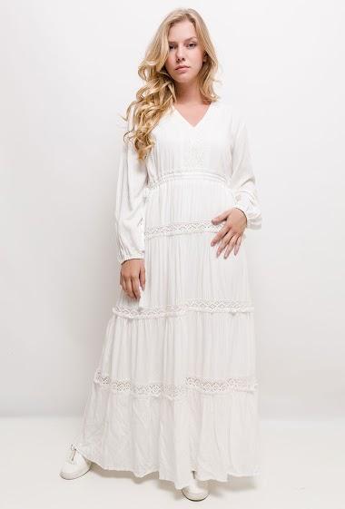Maxi bohemian dress