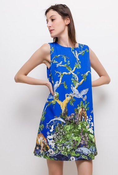 The model measures 178cm and wears S. Length:90cm