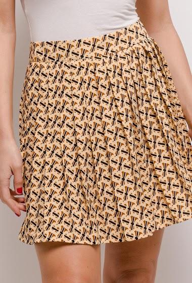JCL PARIS printed skirt CIFA FASHION