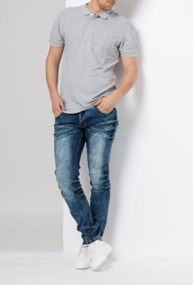 Utra faded jeans with pockets -US Marshall
