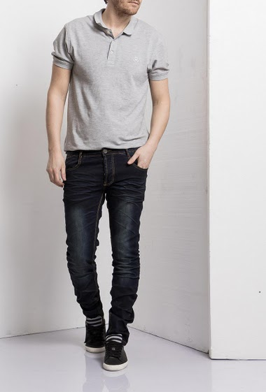 Jean washed blue, Slim fit, Brand Us Marshall