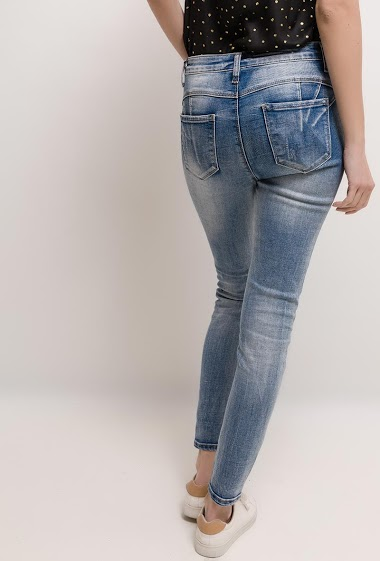 JEWELLY faded slim jean<