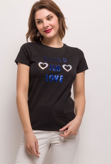 T-shirt BLIND FOR LOVE