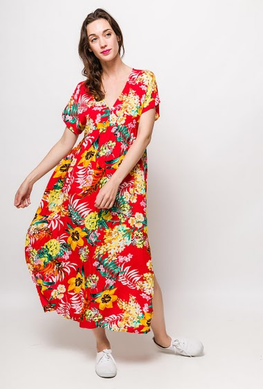 The model measures 177cm and wears S/M. Length:130cm
