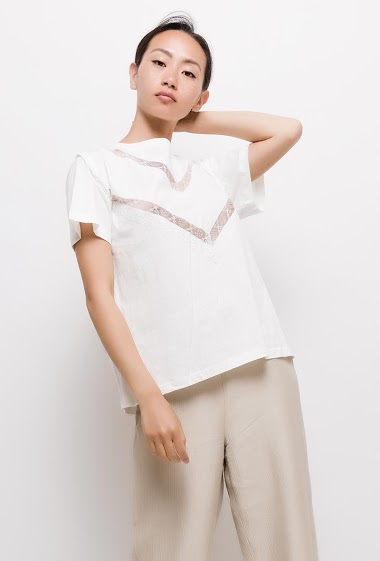 The model measures 168cm and wears S. Length:60cm