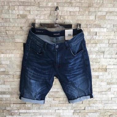 KENZARRO bermudas jeans AUBERVILLIERS FASHION