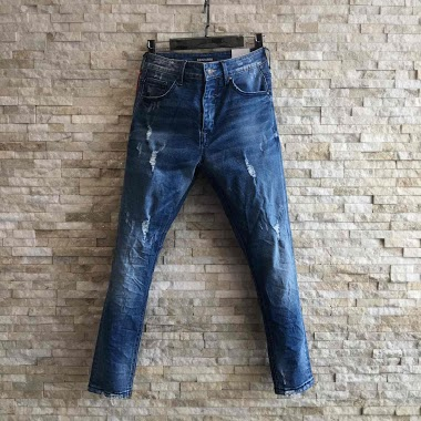 KENZARRO calça jeans skinny jeans super skinny AUBERVILLIERS FASHION